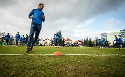 Luka Žinko of Bravo during first practice session of NK Bravo before the spring season of Prva liga Telekom Slovenije 2020/21, on January 5, 2021 in Sports park ZAK, Ljubljana Slovenia. Photo by Vid Ponikvar / Sportida