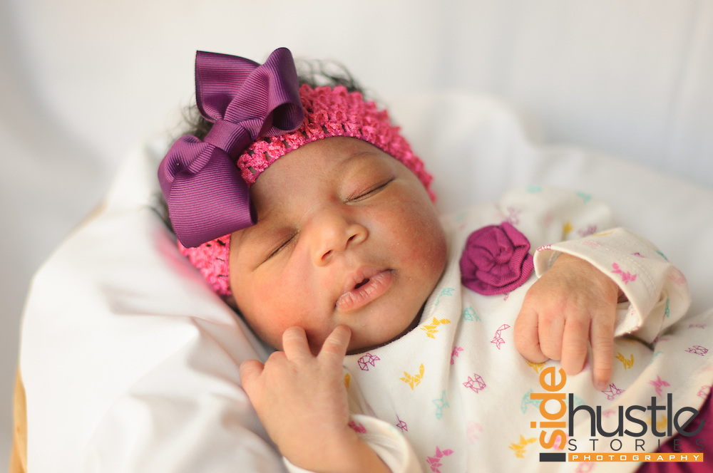 Newborn baby photography. Honored to give these little ones their first photo shoot.
