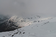 Although Great End and most of the summits were shrouded in clag too