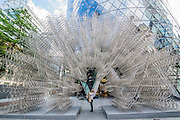 Forever a sculpture  by Ai Weiwei as part of Art in the City  2015.