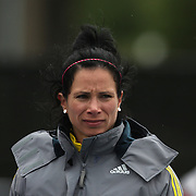 Jennifer Suhr, USA, winning the Women's Pole Vault during the Diamond League Adidas Grand Prix at Icahn Stadium, Randall's Island, Manhattan, New York, USA. 25th May 2013. Photo Tim Clayton