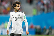 Egypt Mohamed Salah during the 2018 FIFA World Cup Russia, Group A football match between Russia and Egypt on June 19, 2018 at Saint Petersburg Stadium in Saint Petersburg, Russia - Photo Stanley Gontha / Pro Shots / ProSportsImages / DPPI