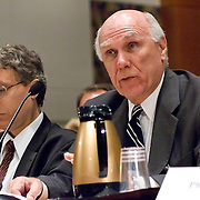 """Commission staffers present Staff Statement No. 15, """"Overview of the Enemy."""" The 9/11 Commission's 12th public hearing on """"The 9/11 Plot"""" and """"National Crisis Management"""" was held June 16-17, 2004, in Washington, DC."""