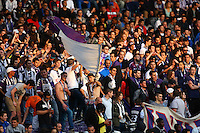 Supporters de Toulouse - 09.05.2015 -  Toulouse / Lille  - 36eme journee de Ligue 1<br />