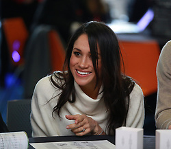 Prince Harry and Meghan Markle take part in an International Women's Day event at Millennium Point in Birmingham, to encourage young women to pursue careers in science, technology, engineering and maths (Stem) subjects.