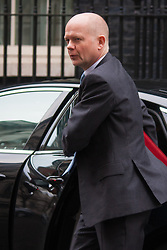 London, March 24th 2015. Members of the Cabinet gather at Downing street for their weekly meeting. PICTURED:, Leader of the House of Commons, William Hague
