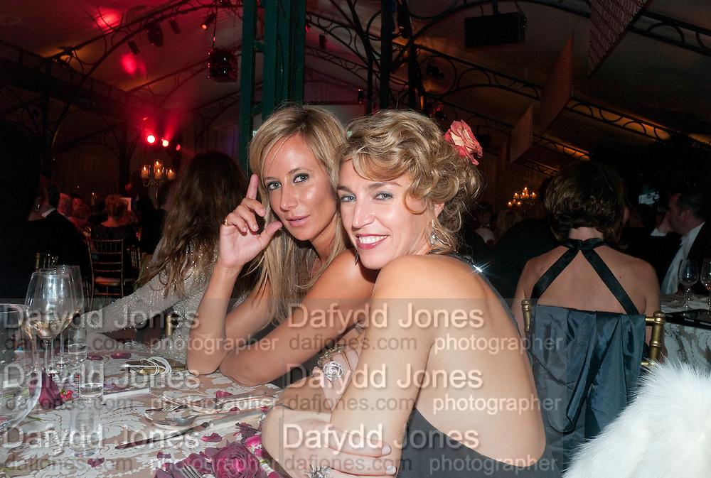 LADY VICTORIA HERVEY; ASSIA WEBSTER, Evgeny Lebedev and Graydon Carter hosted the Raisa Gorbachev charity Foundation Gala, Stud House, Hampton Court, London. 22 September 2011. <br /> <br />  , -DO NOT ARCHIVE-© Copyright Photograph by Dafydd Jones. 248 Clapham Rd. London SW9 0PZ. Tel 0207 820 0771. www.dafjones.com.