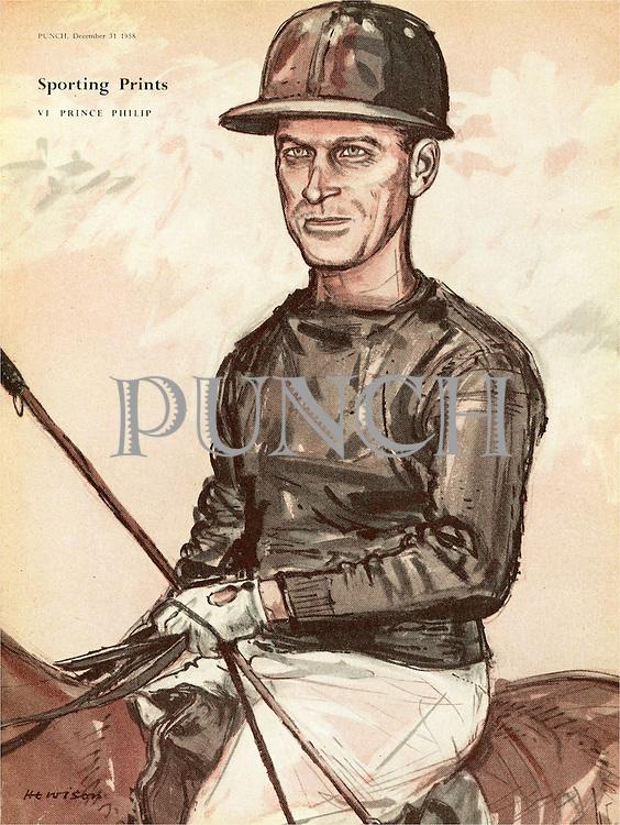Sporting Prints. VI. Prince Phillip