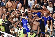 DESCRIZIONE : Campionato 2014/15 Serie A Beko Dinamo Banco di Sardegna Sassari - Grissin Bon Reggio Emilia Finale Playoff Gara4<br /> GIOCATORE : Jerome Dyson<br /> CATEGORIA : Postgame Ritratto Esultanza Tifosi Pubblico Spettatori<br /> SQUADRA : Dinamo Banco di Sardegna Sassari<br /> EVENTO : LegaBasket Serie A Beko 2014/2015<br /> GARA : Dinamo Banco di Sardegna Sassari - Grissin Bon Reggio Emilia Finale Playoff Gara4<br /> DATA : 20/06/2015<br /> SPORT : Pallacanestro <br /> AUTORE : Agenzia Ciamillo-Castoria/GiulioCiamillo