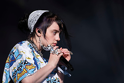 Billie Eilish performs on day 5 of Glastonbury Festival 2019 at Worthy Farm, Pilton, Somerset. Picture date: Sunday 30th June 2019.  Photo credit should read:  David Jensen/EMPICS Entertainment