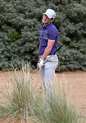 England's Chris Paisley in the rough on the edge of the 6th green during Round 3 on day two of the Paul Lawrie Match Play at Archerfield Links, East Lothian. PRESS ASSOCIATION Photo. Picture date: Friday August 5, 2016. See PA story GOLF Archerfield. Photo credit should read: Jane Barlow/PA Wire. RESTRICTIONS: Editorial use only. No commercial use. No false commercial association. No video emulation. No manipulation of images.