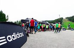 Adidas Sola teka 2014, on September 20, 2014 in Arena Pohorje, Maribor, Slovenia. Photo by Vid Ponikvar / Sportida.com