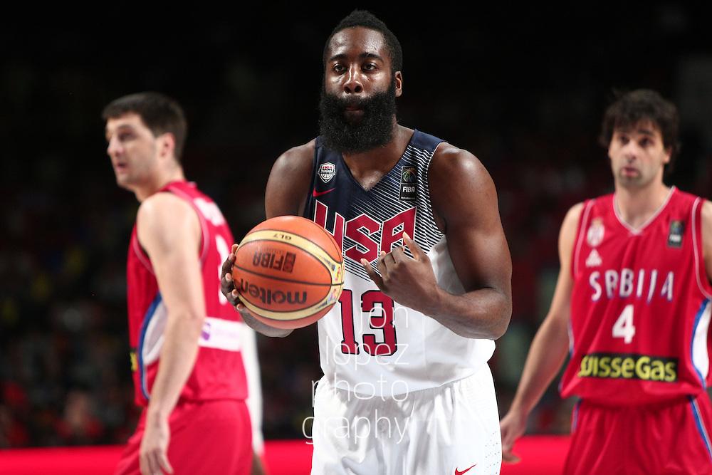 2014 FIBA Basketball World Cup. USA vs SRB. Final.