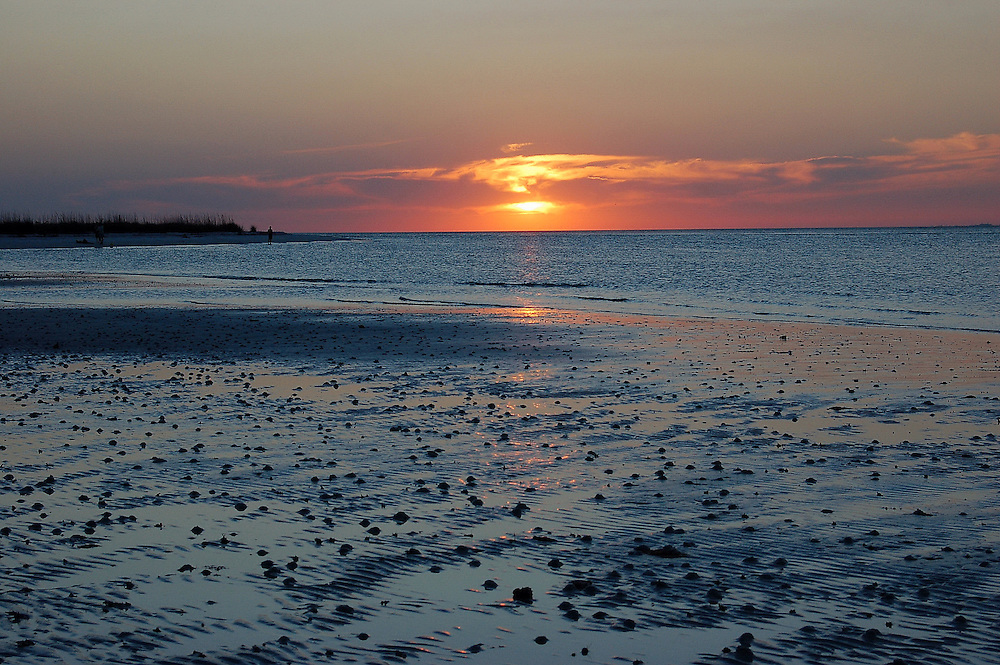 Sunset on Lover's Key in Lee County, Florida. Beautiful!.