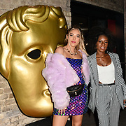 Bella Penfold and Shan Ako arrivers at the BAFTA Children's Awards 2018 at Roundhouse on 25 November 2018, London, UK.