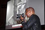 NEW YORK, NEW YORK-JUNE 4: Photographer Jamel Shabazz photographs the 2019 Gordon Parks Foundation Awards Dinner and Auction Inside celebrating the Arts & Social Justice held at Cipriani 42nd Street on June 4, 2019 in New York City. (Photo by Terrence Jennings/terrencejennings.com)