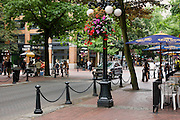 Gastown District, downtown Vancouver, British Columbia, Canada.