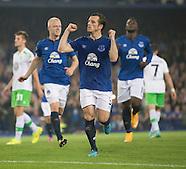 Everton v VfL Wolfsburg 170914