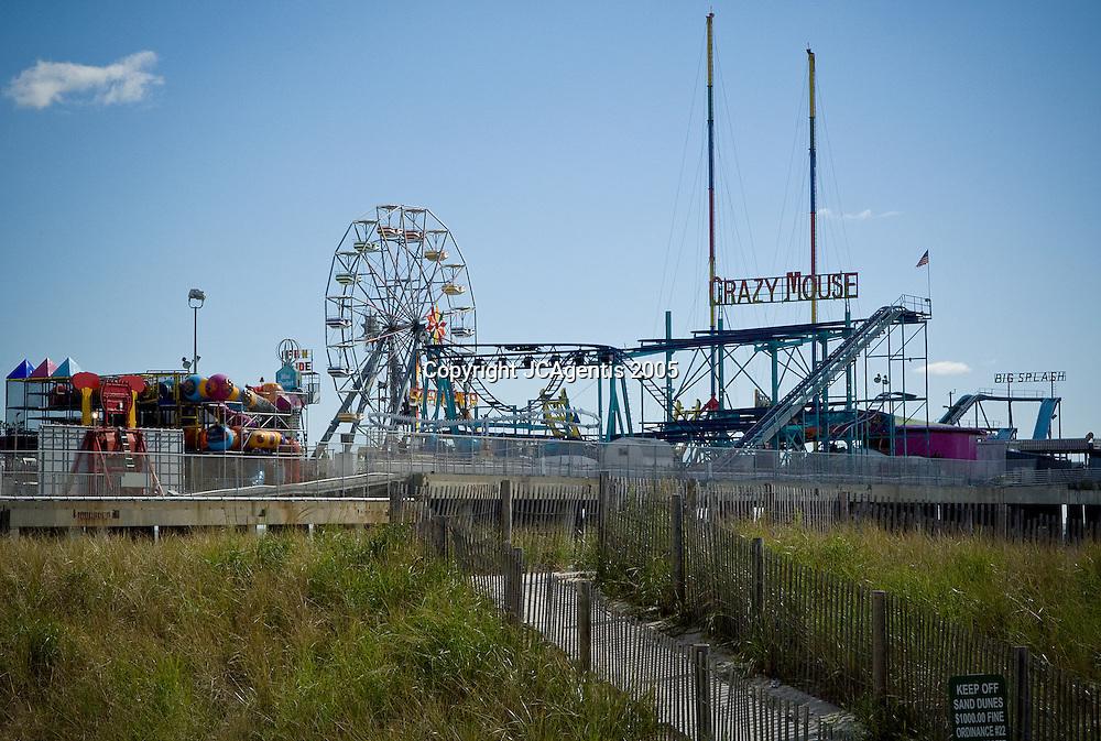 Ferris Wheel at Steel Pier Atlantic City, New Jersey. October 15, 2005.
