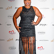 Marisha Wallace attends gala dinner and concert to raise money and awareness for the Melissa Bell Foundation and Style For Stroke Foundation. 14 October 2018.