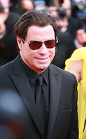 Actor John Travolta at Sils Maria gala screening red carpet at the 67th Cannes Film Festival France. Friday 23rd May 2014 in Cannes Film Festival, France.
