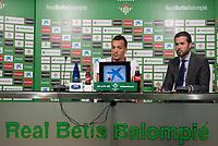 Betis player Kadir press conference at Benito Villamarin stadium in Seville, Spain. (ALTER PHOTOS/BOUZA PRESS/CARLOS BOUZA)