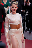 Actress Amber Heard at the Les Misérables gala screening at the 72nd Cannes Film Festival Wednesday 15th May 2019, Cannes, France. Photo credit: Doreen Kennedy