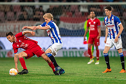 12-05-2018 NED: FC Utrecht - Heerenveen, Utrecht<br /> FC Utrecht win second match play off with 2-1 against Heerenveen and goes to the final play off / (L-R) Lukas Gortler #27 of FC Utrecht, Morten Thorsby #8 of SC Heerenveen