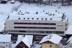 12.12.2012, Schladming, AUT, FIS Weltmeisterschaften Ski Alpin, Schladming 2013, Vorberichte, im Bild das Haus Crystal, in dem das WM-Büro untergebracht ist, am 12.12.2012 // house crystal, home of the Championships-office on 2012/12/12, preview to the FIS Alpine World Ski Championships 2013 at Schladming, Austria on 2012/12/12. EXPA Pictures © 2012, PhotoCredit: EXPA/ Martin Huber