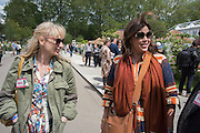 CLEMMIE HAMBRO; KIRSTIE ALLSOPP, Press view of the 2016 RHS  Chelsea Flower Show,  London.