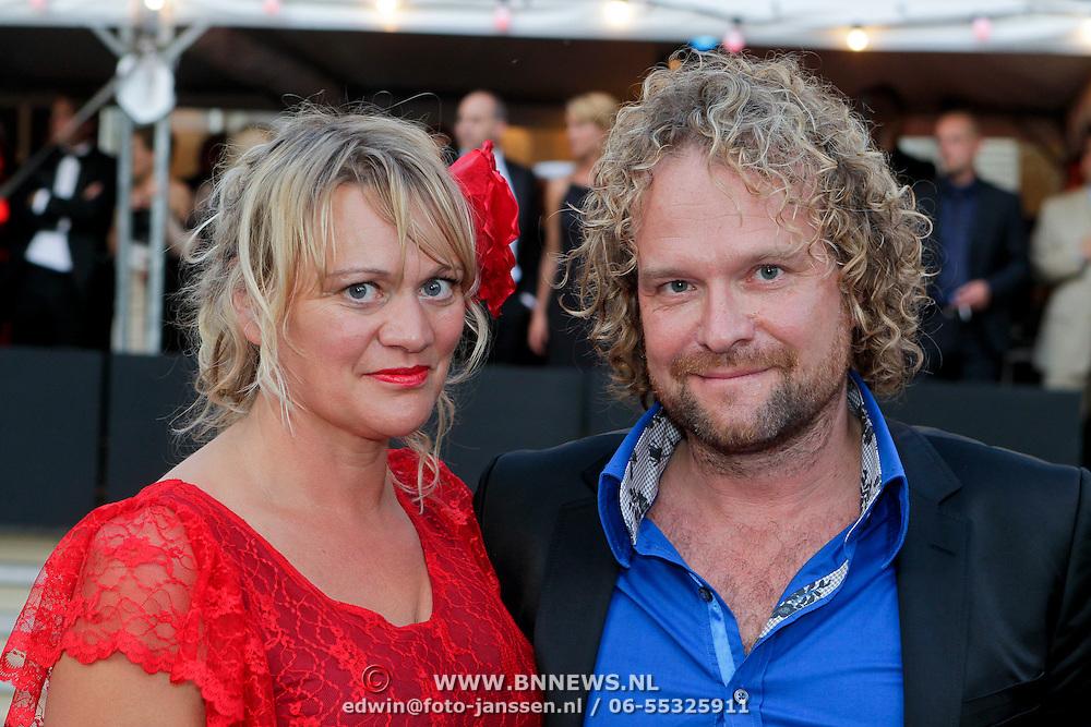 NLD/Utrecht/20110930 - NFF 2011 - Inloop Gouden Kalveren 2011, Mark de cloe en partner