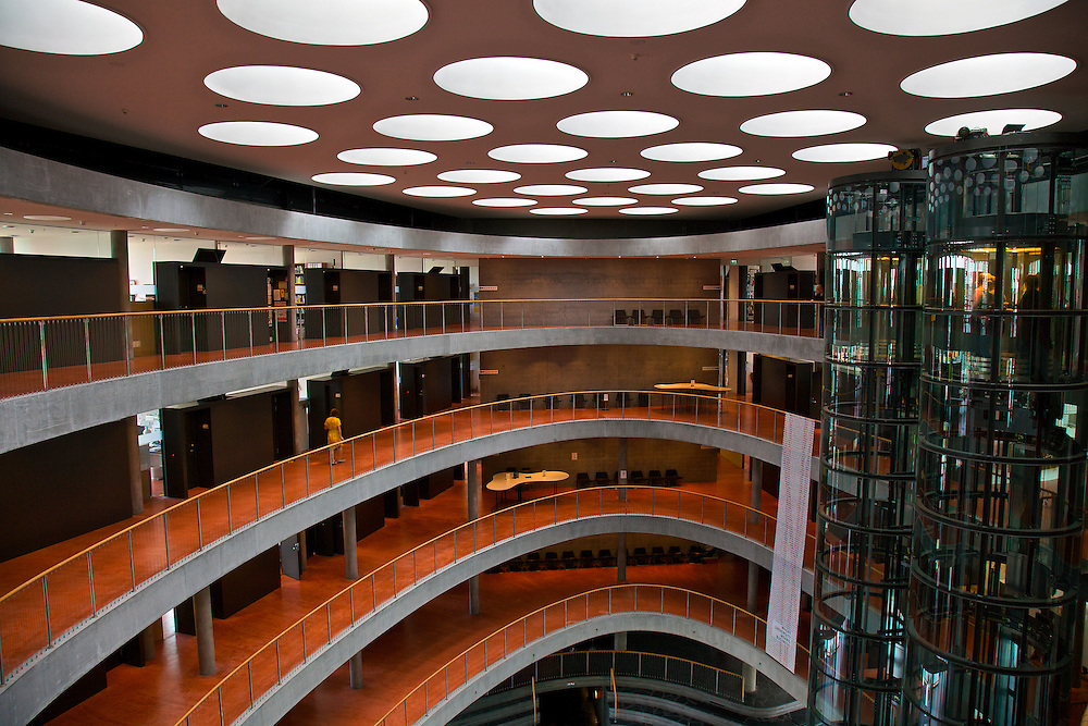 """""""The Wedge"""" building, part of the Copenhagen Business School and a milestone in modern Danish architecture"""