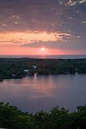 A great place to view a sunset in East Dennis is the top of Scargo Tower.