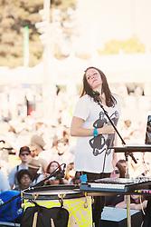 K. Flay performs at The Treasure Island Music Festival - San Francisco, CA - 10/13/12