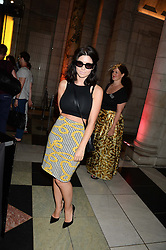 MARINA DIAMANDIS at the opening of Club To Catwalk: London Fashion In The 1980's an exhibition at The V&A Museum, London on 8th July 2013.