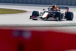 February 18, 2019 - Barcelona, Catalonia, Spain - Max Verstappen of Aston Martin RedBull Racing during the winter test days at the Circuit de Catalunya in Montmelo (Catalonia), Spain, on February 18, 2019. (Credit Image: © Javier MartíNez De La Puente/NurPhoto via ZUMA Press)