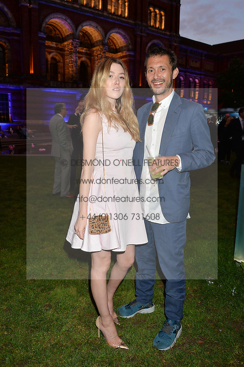 VISCOUNT MACMILLAN and DAISY BOYD at the V&A Summer Party in association with Harrod's held at The V&A Museum, London on 22nd June 2016.