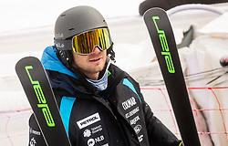 Robi Kristan during 2nd Run of Ladies' Giant Slalom at 57th Golden Fox event at Audi FIS Ski World Cup 2020/21, on January 17, 2021 in Podkoren, Kranjska Gora, Slovenia. Photo by Vid Ponikvar / Sportida