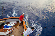 Marlin Fishing, Kailua-Kona, Big Island of Hawaii