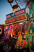Fool the Guesser carnival game at Family Kingdom amusement park along the beachfront in Myrtle Beach, SC.