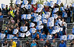 26.10.2016, Sportzentrum, Ebreichsdorf, AUT, OeFB Samsung Cup, ASK Ebreichsdorf vs FK Austria Wien, Achtelfinale, im Bild Fans von Ebreichsdorf // during the OeFB Samsung Cup Round of last 16 Match between ASK Ebreichsdorf and FK Austria Wien at the Sportzentrum in Ebreichsdorf, Austria on 2016/10/26. EXPA Pictures © 2016, PhotoCredit: EXPA/ Sebastian Pucher