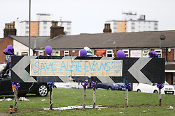 © Licensed to London News Pictures. 24/04/2018. Liverpool, UK. Picture shows  Alder Hey hospital in Liverpool where 23 month old Alfie Evans life support has been withdrawn but it is reported that he has been breathing unaided for 9 hours. Alfie has been living in a coma for the past year after being struck down with a mystery illness his parents Kate James & Tom Evans have been fighting legal cases t keep him alive & move him abroad for medical treatment. Photo credit: Andrew McCaren/LNP