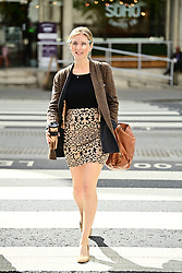 © Licensed to London News Pictures. 11/05/2021. London, UK. Television presenter RACHEL RILEY arrives at The Royal Courts of Justice in London where she is currently suing Labour Party staff member Laura Murray for libel over a social media post. Photo credit: Ben Cawthra/LNP