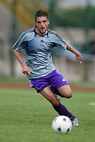Trento 4/8/2004 Amichevole - Friendly match Fiorentina Sampdoria 3-2 <br /> <br /> Nella foto: <br /> Javier Garcia Portillo Fiorentina<br /> Photo Jay / Graffiti