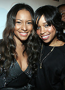 """l to r: Valiesha Butterfield and Mashonda at The Russell Simmons and Spike Lee  co-hosted""""I AM C.H.A.N.G.E!"""" Get out the Vote Party presented by The Source Magazine and The HipHop Summit Action Network held at Home on October 30, 2008 in New York City"""