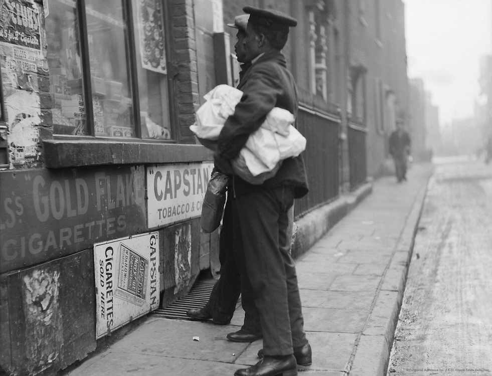 Types in Chinatown, London, 1933
