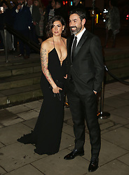 February 18, 2019 - London, United Kingdom - Jessica Lemarie and Robert Pires attend the Fabulous Fund Fair as part of London Fashion Week event. (Credit Image: © Brett Cove/SOPA Images via ZUMA Wire)