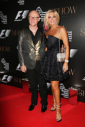 © Licensed to London News Pictures. 02/07/2014, UK. John Caudwell; Claire Johnson, F1 Party in aid of Great Ormond Street Hospital Children's Charity, Victoria and Albert Museum, London UK, 02 July 2014. Photo credit : Richard Goldschmidt/Piqtured/LNP