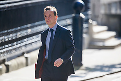 © Licensed to London News Pictures. 17/05/2016. London, UK. Welsh Secretary ALUN CAIRNS attending a cabinet meeting in Downing Street on Tuesday, 17 May 2016. Photo credit: Tolga Akmen/LNP