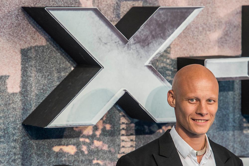 Thomas Lemarquis (Caliban) - The 'global fan screening' of Twentieth Century Fox's X-Men Apocalypse at the BFI IMAX at Waterloo.